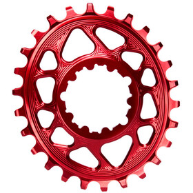 absoluteBLACK Oval Chainring Spiderless Boost148 for SRAM, red